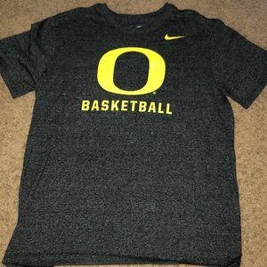 Oregon ducks basketball short sleeve